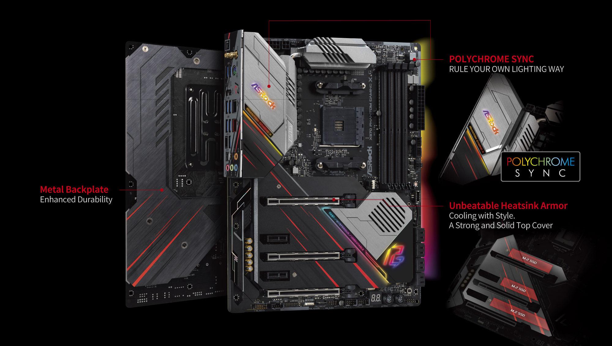 مادربرد ازراک X570 Phantom Gaming X