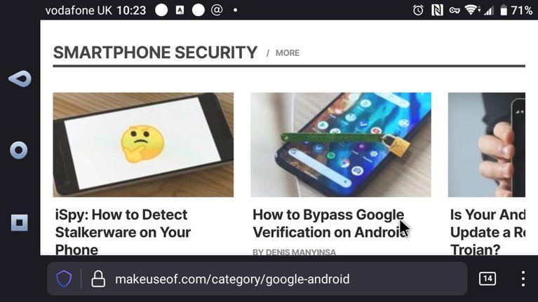 اتصال موس به گوشی و تبلت اندرویدی