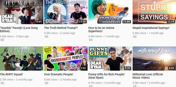 youtube nigahiga channel videos