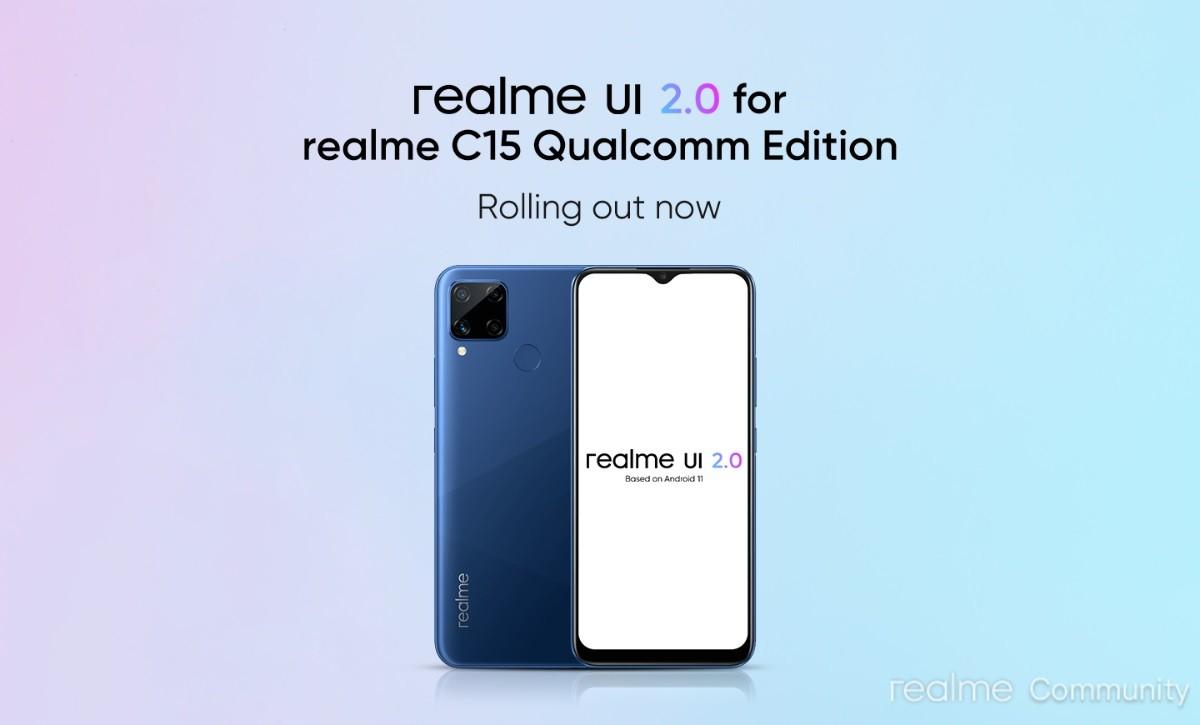 آپدیت اندروید 11 برای گوشی Realme C15 Qualcomm Edition منتشر شد