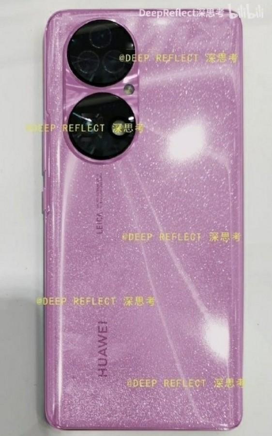 اولین تصاویر واقعی گوشی P50 هوآوی در اینترنت منتشر شد