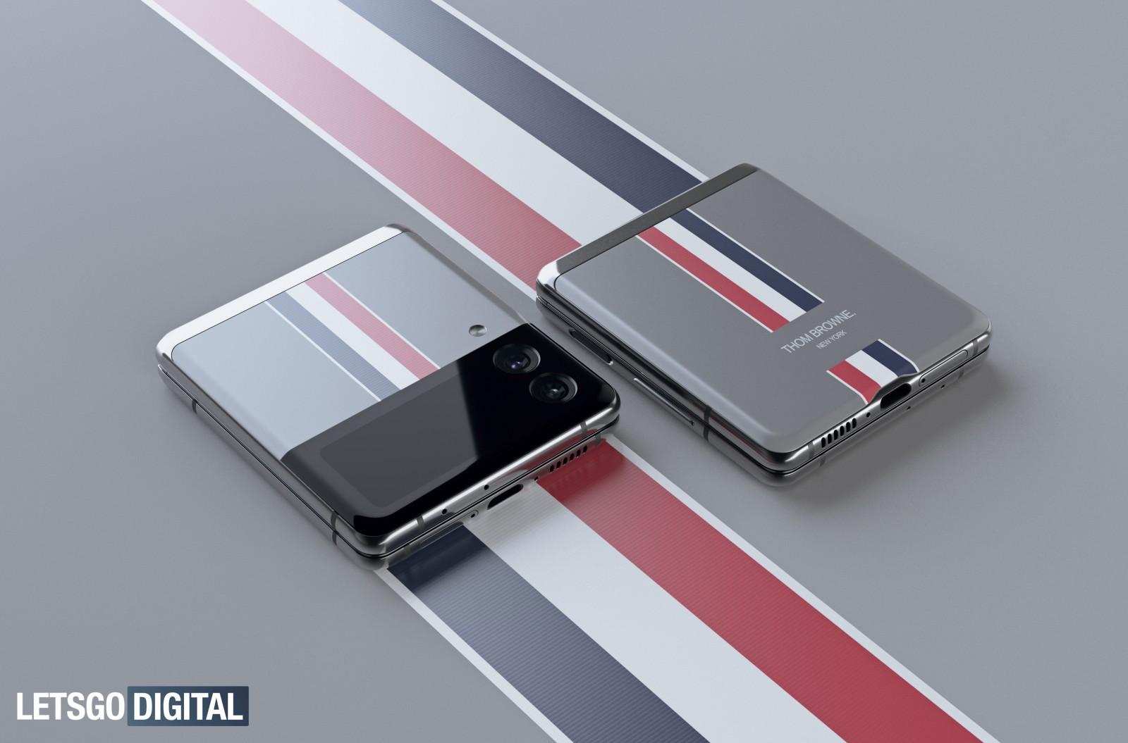تصاویر مدل ویژه تام براون گوشی گلکسی زد فولد 3 منتشر شد