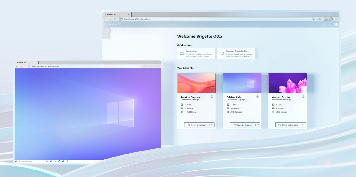 مایکروسافت از ویندوز 365 رونمایی کرد