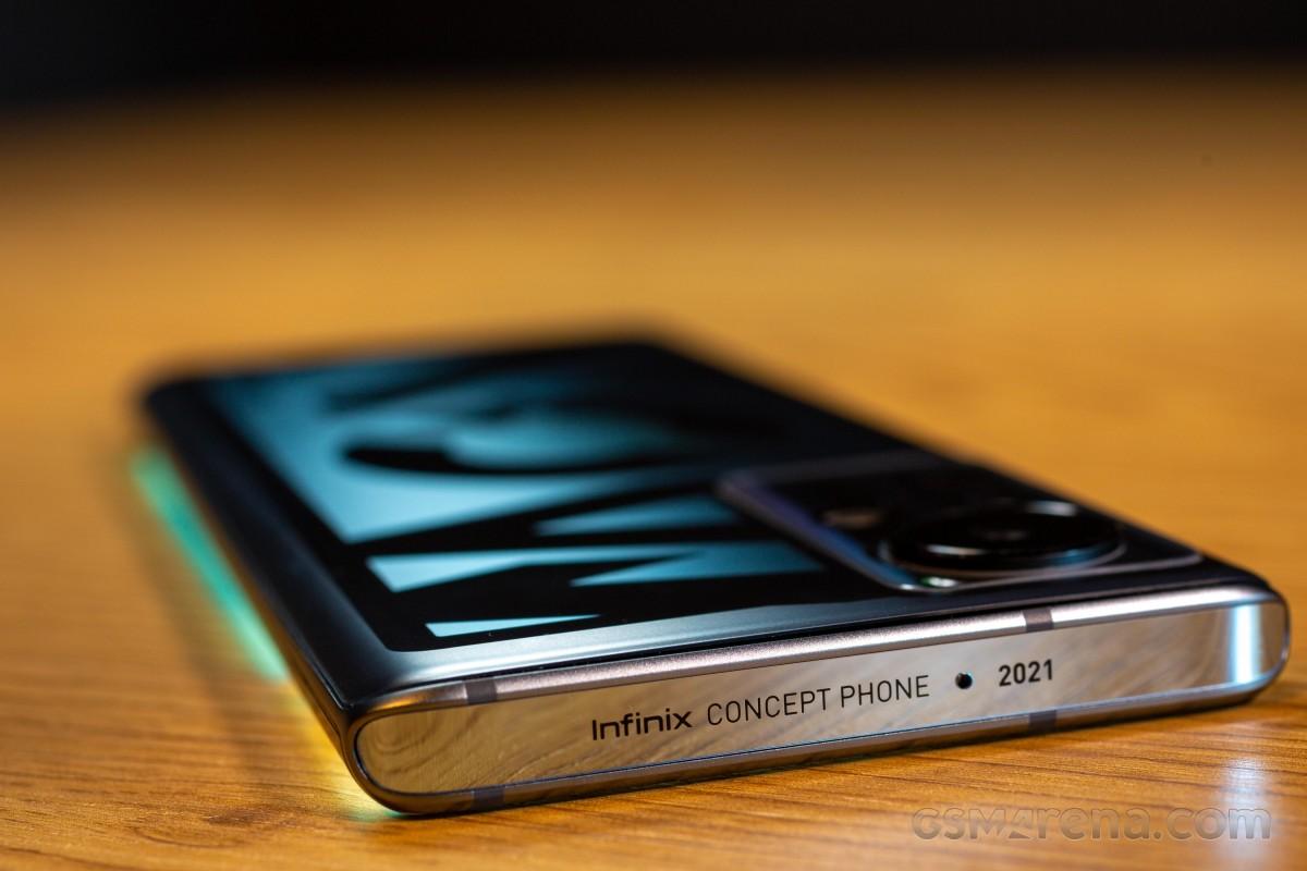 نگاهی به گوشی Concept Phone 2021 اینفینیکس پیش از بررسی کامل آن: نگاهی به آینده و سرعت شارژ 160 وات