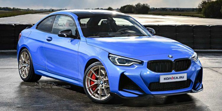 2021 bmw 2 series coupe rendering
