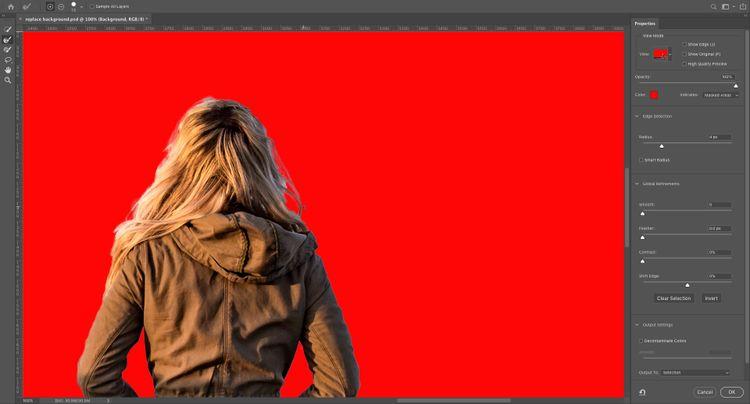 نحوه عوض کردن زمینه عکس در فتوشاپ