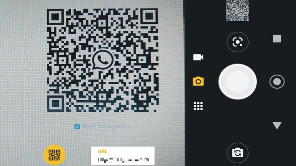 استفاده از دوربین گوشی برای اسکن کد QR