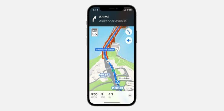 سرویس نقشه اپل همراه با iOS 15: گوگل شکست می خورد؟