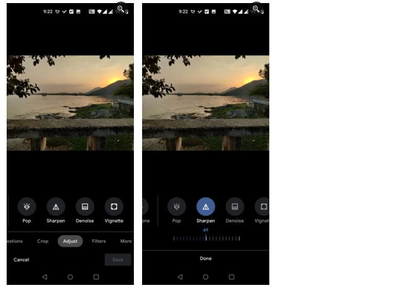 2 ویژگی جدید گوگل فوتوز: چطور از دی نویز و شارپن استفاده کنیم؟