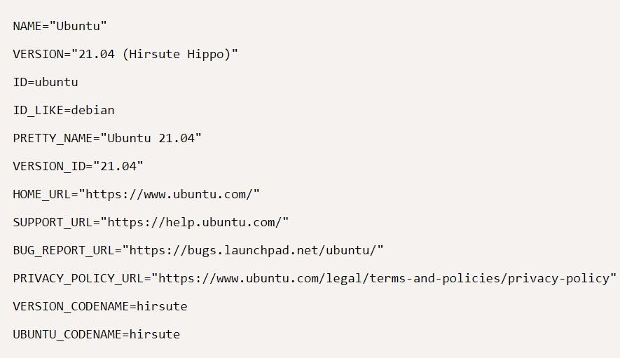 کد ارتقاء اوبونتو 20.04 به اوبونتو 21.04
