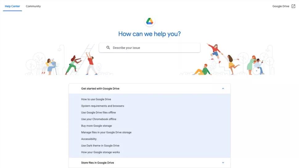 گوگل درایو، Google Drive