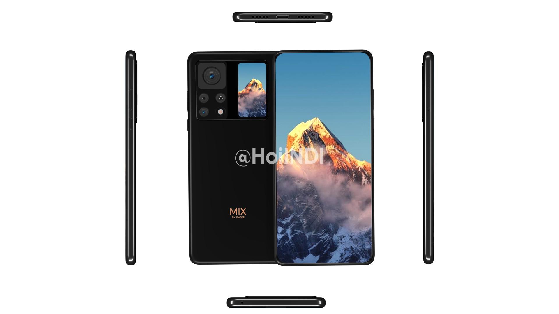 گوشی می میکس 4 شیائومی یک دوربین زیر نمایشگر کاملا نامرئی خواهد داشت + ویدئو