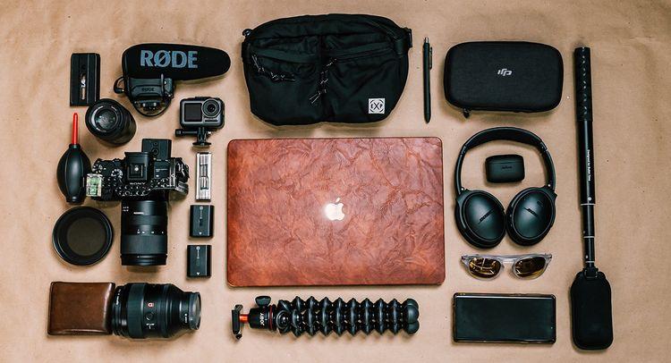 تجهیزات و ابزارهای عکاسی