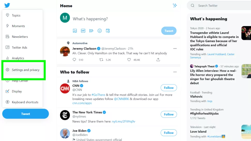 آموزش طریقه حذف حساب توییتر