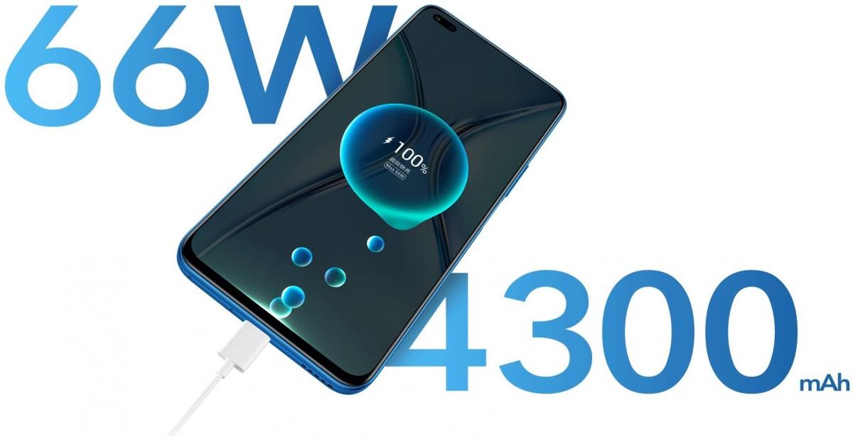 گوشی آنر ایکس 20 فایوجی با نمایشگر 120 هرتز و سرعت شارژ 66 وات رونمایی شد