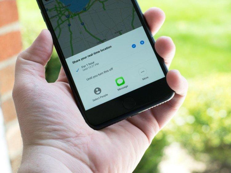 گوگل مپ اشتراک گذاری مکان شما را در آیفون راحتتر میکند