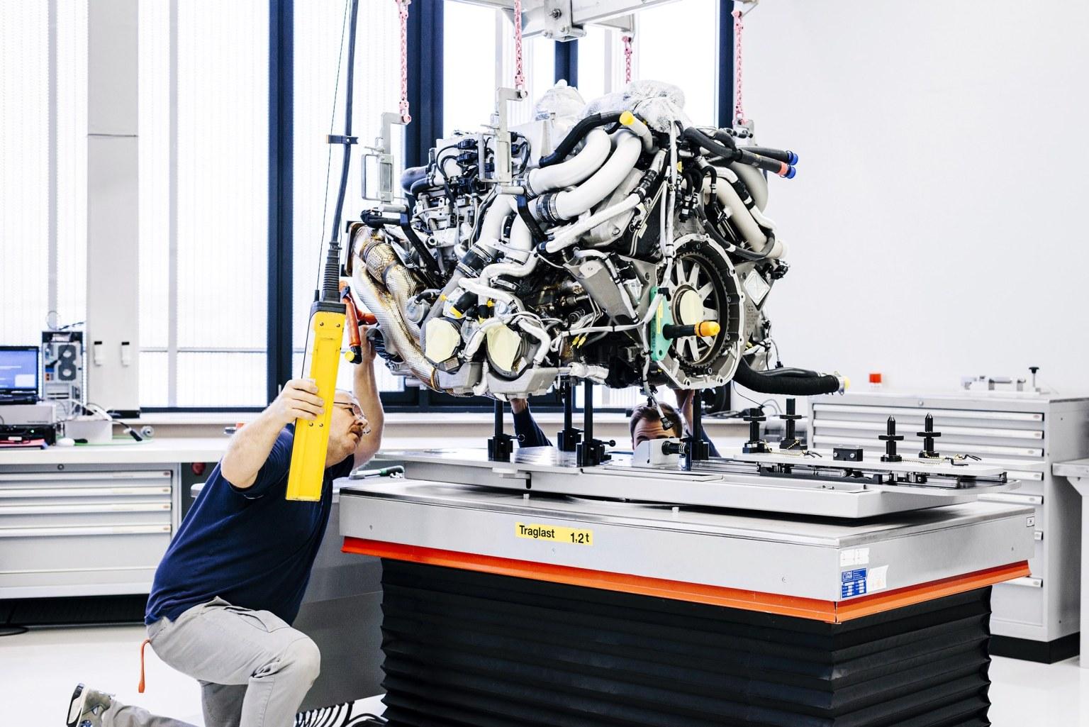 موتور W16 بوگاتی