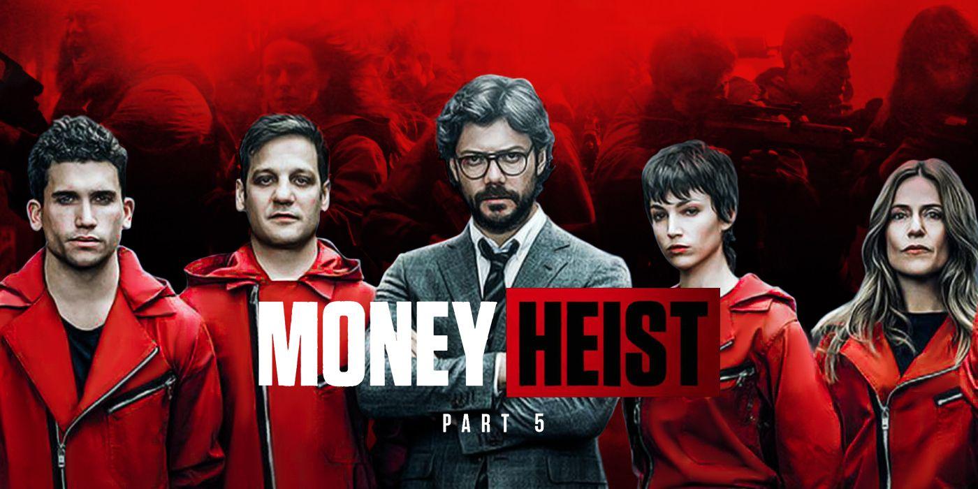 فصل پنجم سریال خانه کاغذی (Money Heist-سرقت پول)