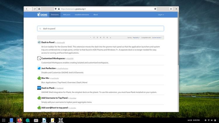 سفارشی سازی دسکتاپ لینوکس