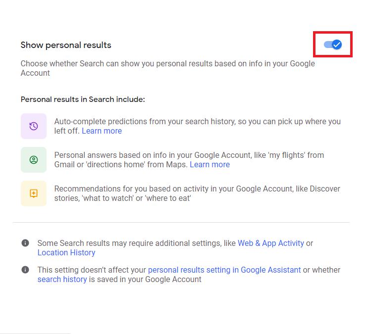 چگونه از شخصی سازی نتایج جستجوی گوگل جلوگیری کنیم؟ 4