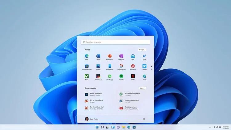 چگونه تسک بار ویندوز 11 را شخصی سازی کنیم؟ 1