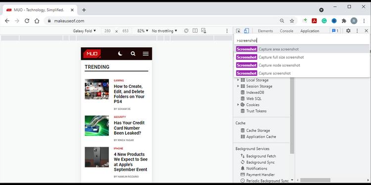 چگونه در کروم و فایرفاکس اسکرین شات تمام صفحه بگیریم؟ 4