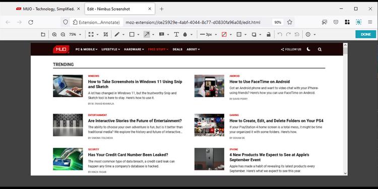 چگونه در کروم و فایرفاکس اسکرین شات تمام صفحه بگیریم؟ 6