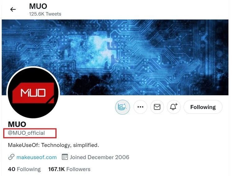 تفاوت نام کاربری و نام نمایشی توئیتر