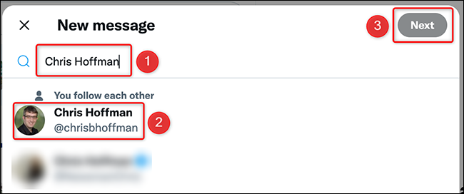 3 twitter site select user
