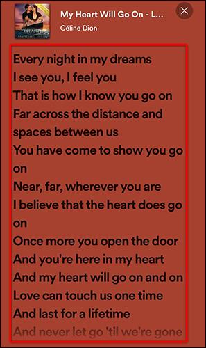 4 spotify lyrics full screen 1