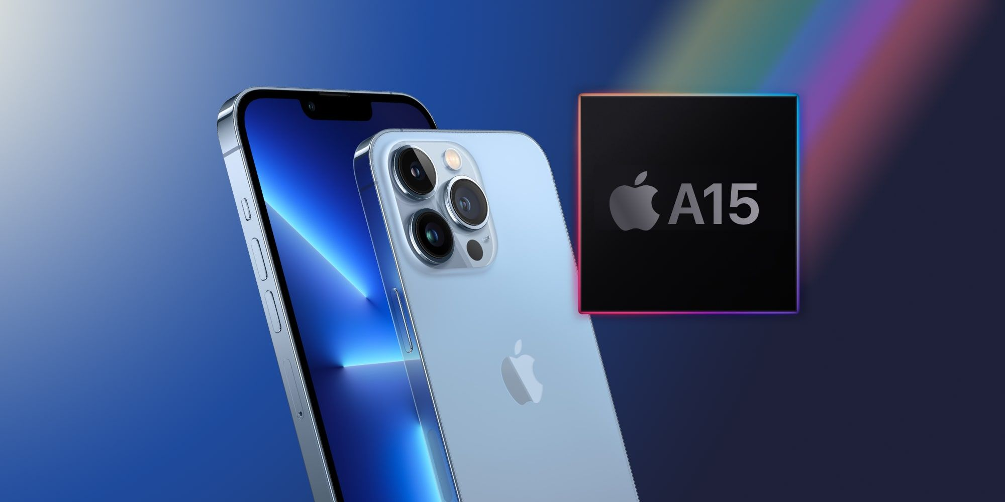 Apple A15 Over iPhone 13 Pro 1