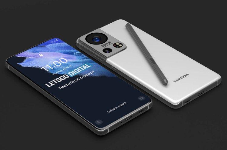 Samsung Galaxy S22 Render 3