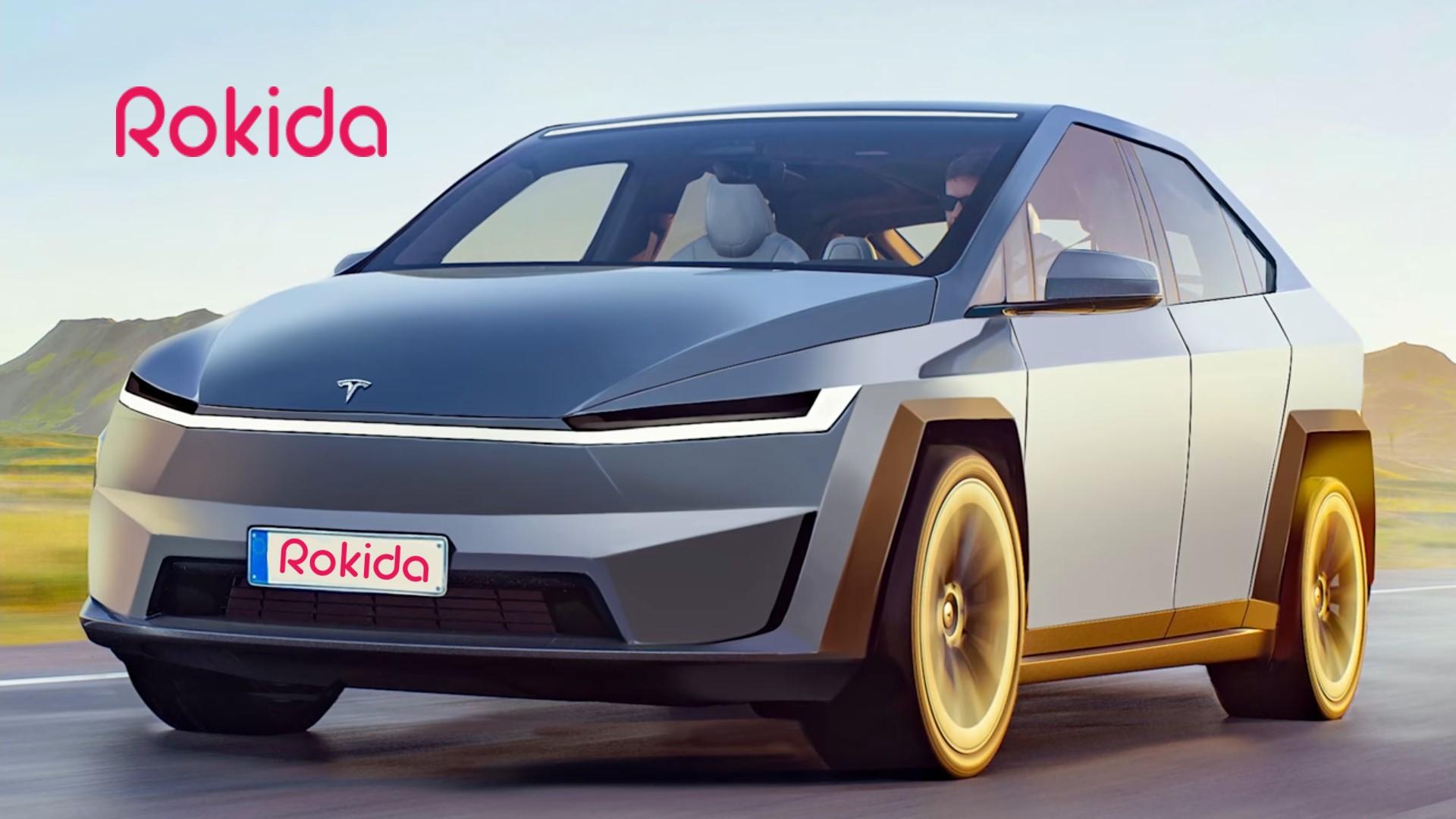 نسخهی جدید تسلا مدل X ( تصویر اختصاصی سایت روکیدا )