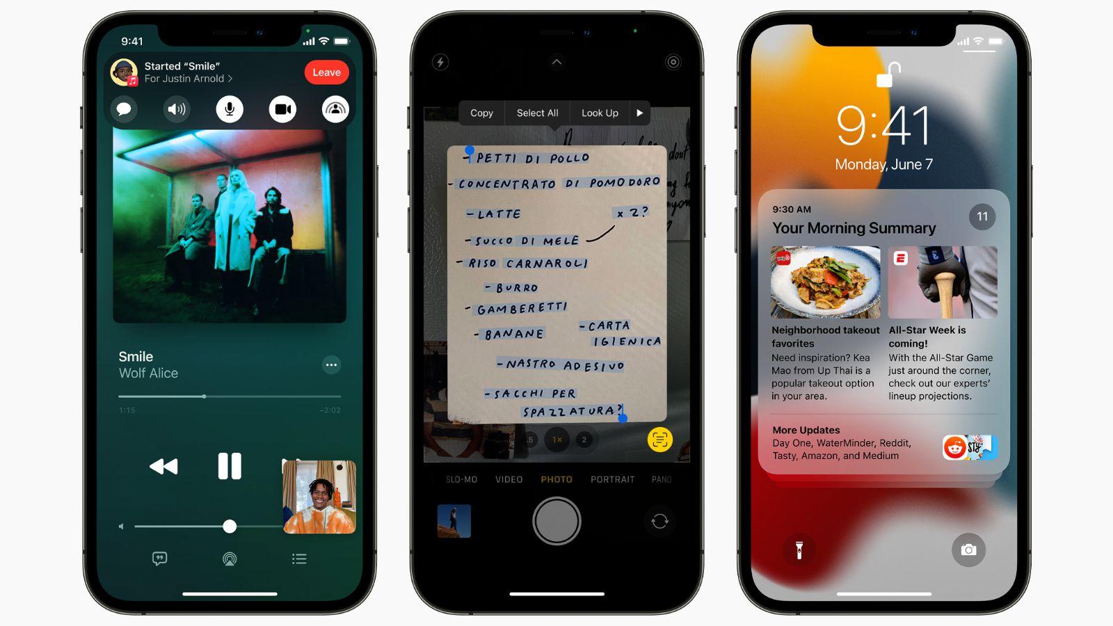 راهنمای جامع iOS 15 1
