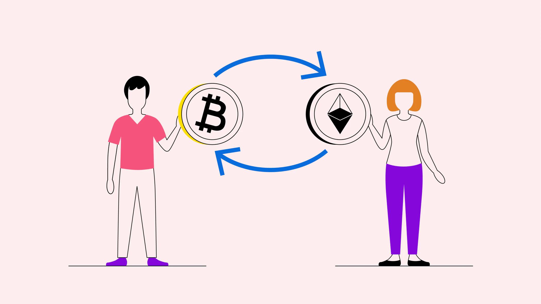 مبادلات اتمیک ارزهای دیجیتال چیست و چه کاربردی دارد؟ 1