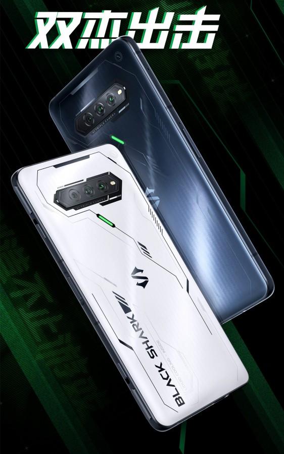مشخصات نمایشگر و طراحی گوشی گیمینگ بلک شارک 4 اس شیائومی مشخص شد