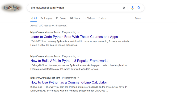 و ترفندهای جستجوی گوگل برای برنامه نویسها 2