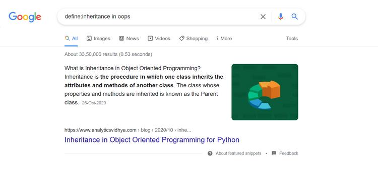 و ترفندهای جستجوی گوگل برای برنامه نویسها 3