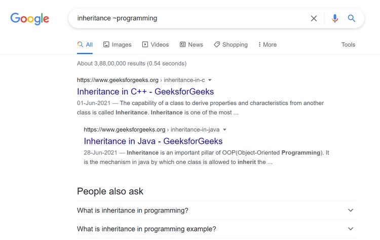 و ترفندهای جستجوی گوگل برای برنامه نویسها 4 1