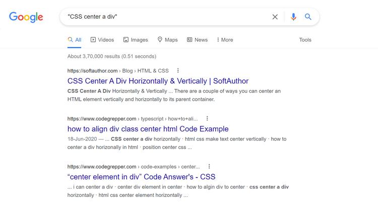 و ترفندهای جستجوی گوگل برای برنامه نویسها 4