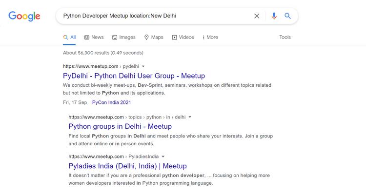 و ترفندهای جستجوی گوگل برای برنامه نویسها 9