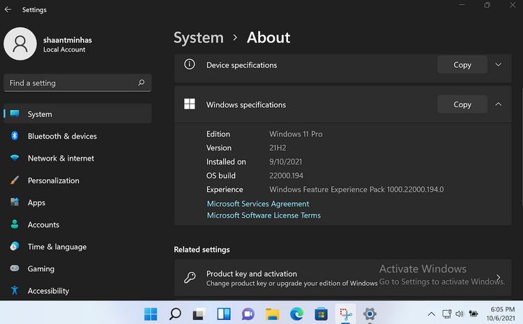 چگونه بیلد و نسخه ویندوز 11 را بررسی کنیم؟ 2