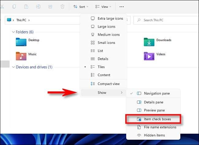 چگونه تیکهای فایل اکسپلورر را در ویندوز 11 غیرفعال کنیم؟ 4