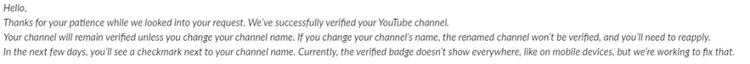 چگونه تیک تأیید یوتیوب را بگیریم؟ 7