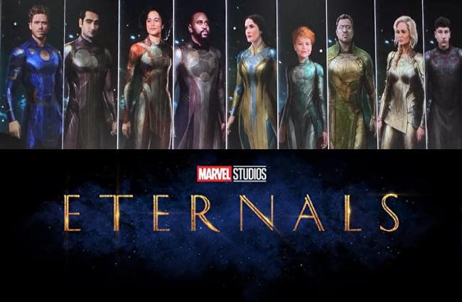 بررسی سریال جاودانه ها 2021 Eternals