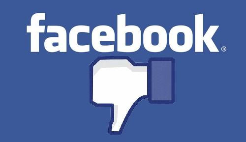 اختلال در فیس بوک