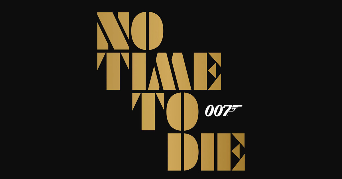 James Bond No Time To Die Poster