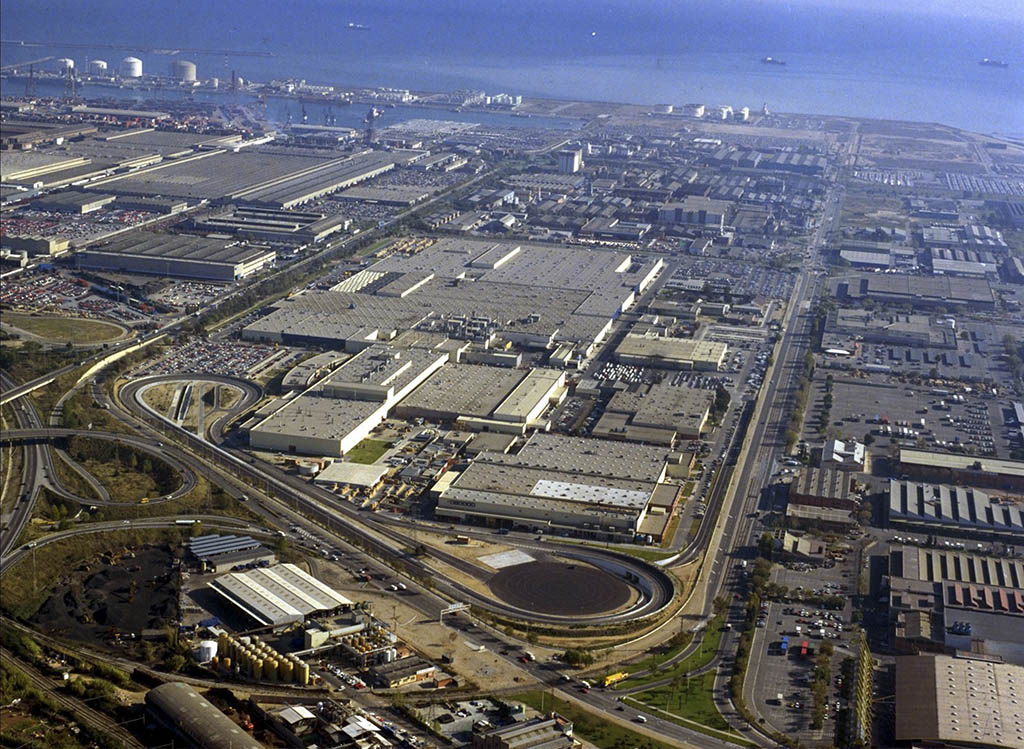 کارخانهی نیسان در اسپانیا