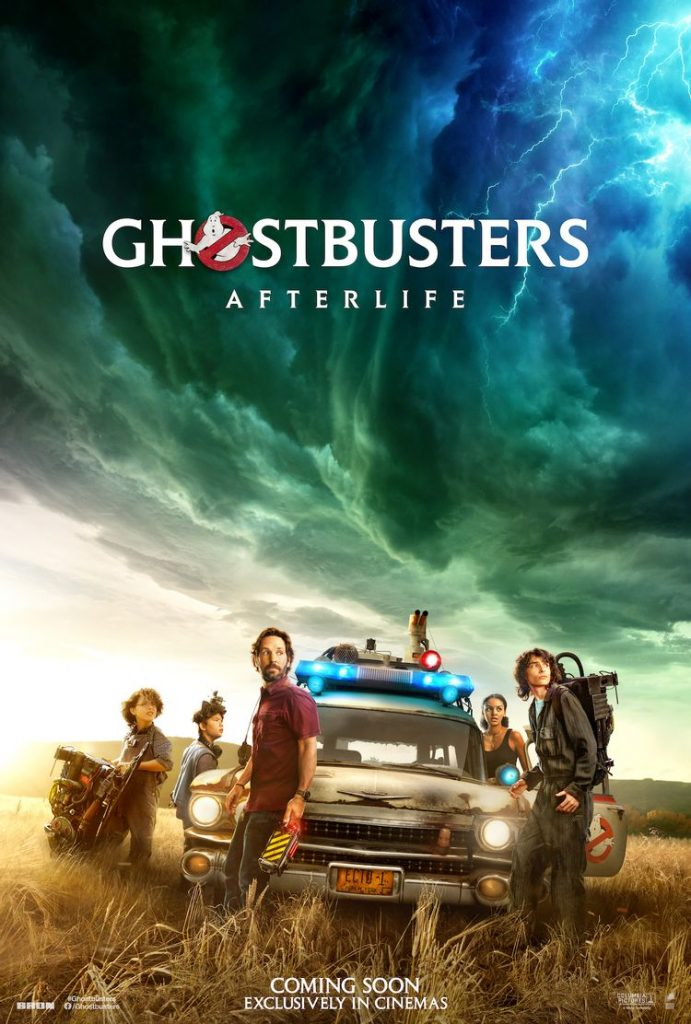 Sony Pictures Presents Two Cool Posters from Ghostbusters Afterlife