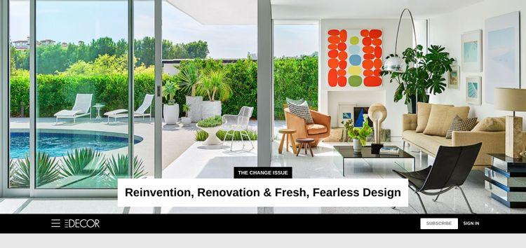 بهترین منابع برای طراحی داخلی و دکوراسیون را می شناسید؟ 6 گزینه الهام بخش